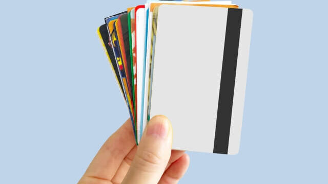 カードでバレる